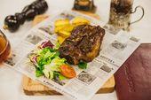 Ребра свиные в соусе BBQ / Pork ribs in BBQ sauce