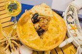 Спагетти с морепродуктами /  Spaghetti with seafood