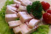 Сало засоленное по-домашнему / Homemade salted lard