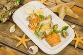 Рыбное ассорти гриль / Fish platter grilled