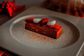 Медовик  / Medovik - Honey cake soaked in custard with meringue