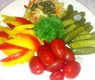 Ассорти домашних разносолов / Home-made pickles platter