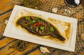 Камбала в пергаменте / Local flatfish baked in parchment